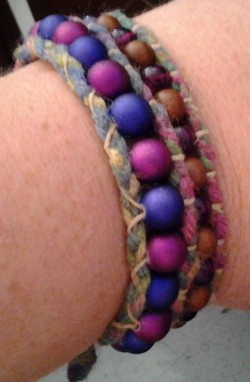My FIRST wrap bracelet